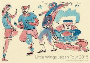 Little Wings Japan Tour 2015