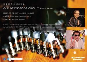 鈴木博文 / 豐田道倫 「our resonance circuit」